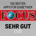 Focus Magazine's Best Diabetes App (Germany)