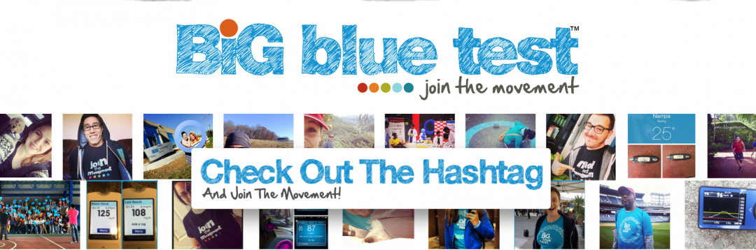 Have you done a #BigBlueTest?