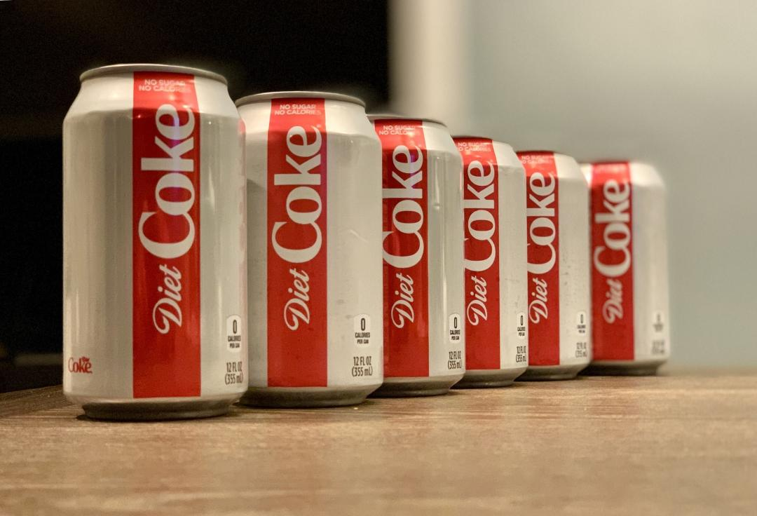 Scott loves Diet Coke like crazy! How about you?
