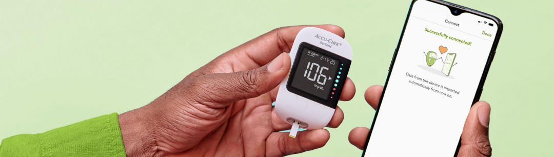 Simply Clear Data. Simply There. Introducing Accu-Chek® Instant!