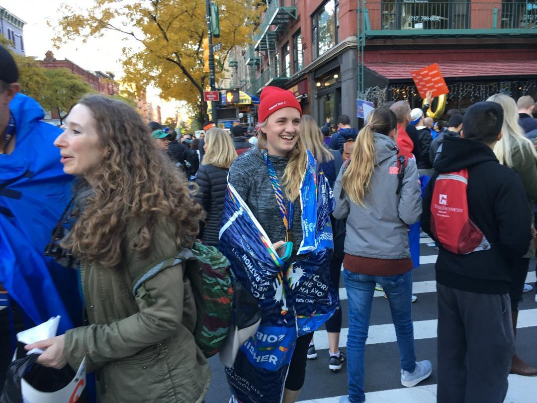 Running the New York Marathon with diabetes