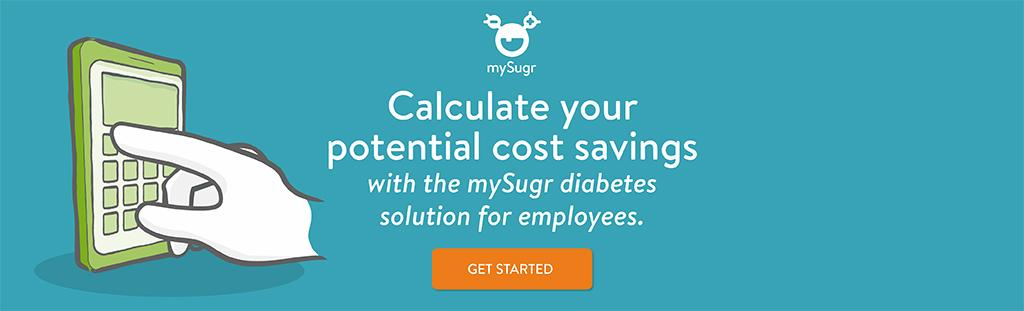 Calculate your potential cost savings with mySugr