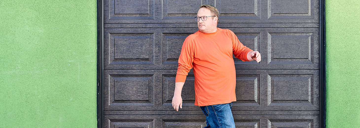 Chris, living with Type 2 Diabetes
