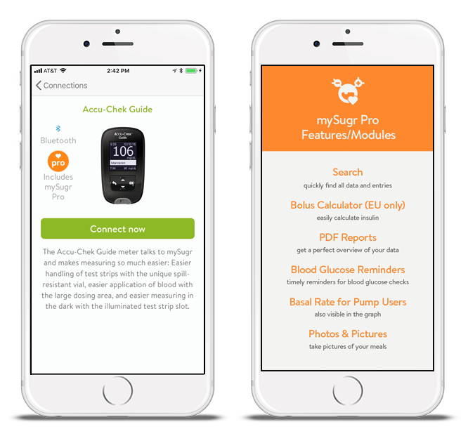 Connect mySugr with Accu-Chek Guide and get mySugr Pro for free