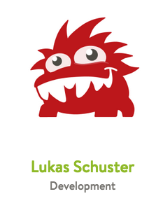 A red mySugr monster avatar