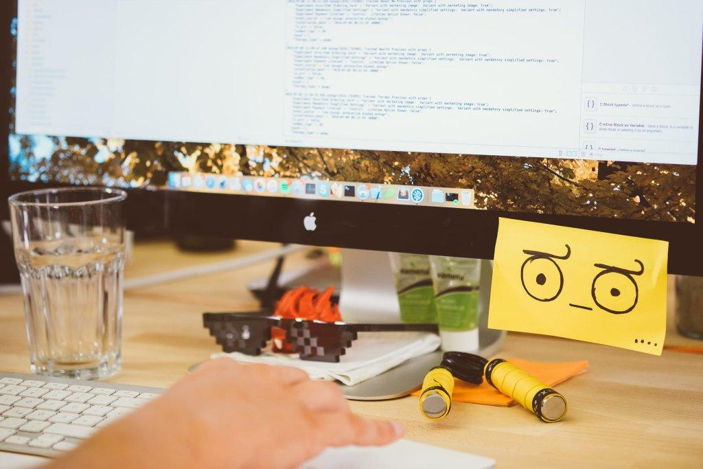 Fun stuff at a developers desk
