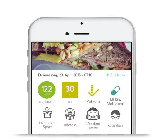 Diabetes Tagebuch App