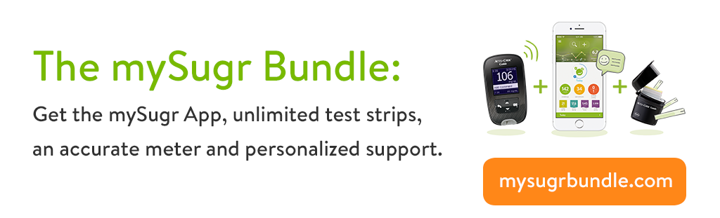 mySugr Bundle - Unlimited Accu-Chek Guide test strips