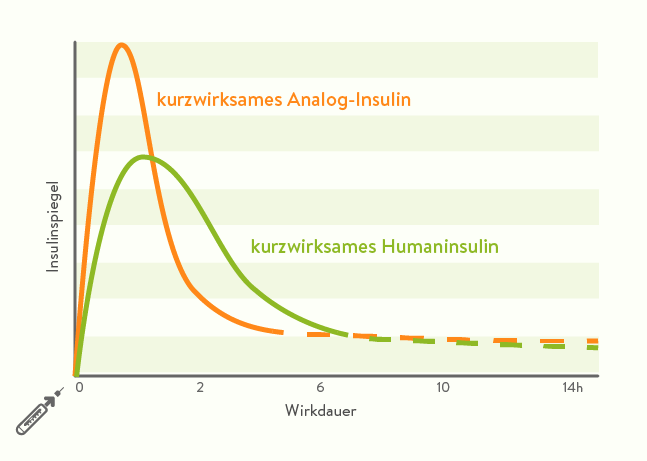 Wirkkurve Insulin