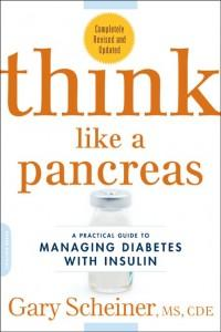 """Cover image of """"Think Like a Pancreas"""" book from Gary Scheiner"""
