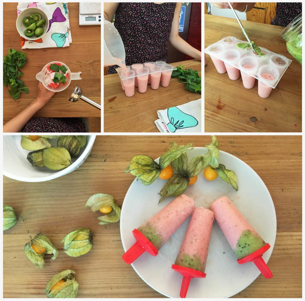 Wassermelone-Kiwi-Pops
